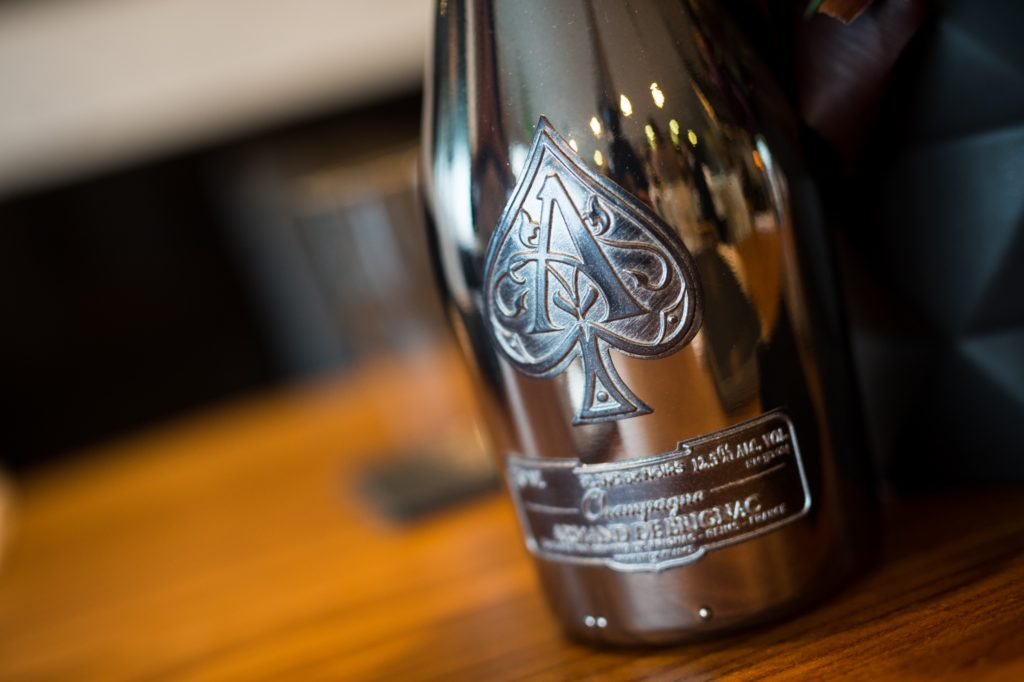 Food & Wine Celebrates Armand de Brignac Blanc de Noirs A2 with Chef Ludo: