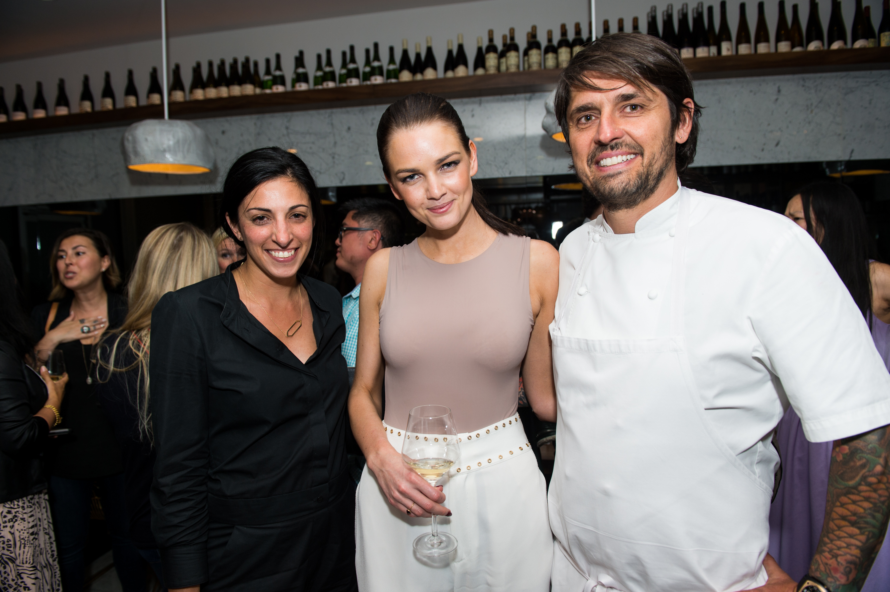 Food & Wine Celebrates Armand de Brignac Blanc de Noirs A2 with Chef Ludo: - Armand de Brignac Champagne