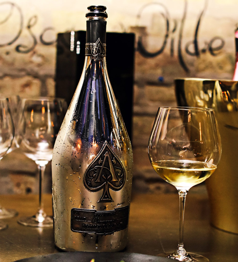 A spirited evening in Chicago - Armand de Brignac Champagne