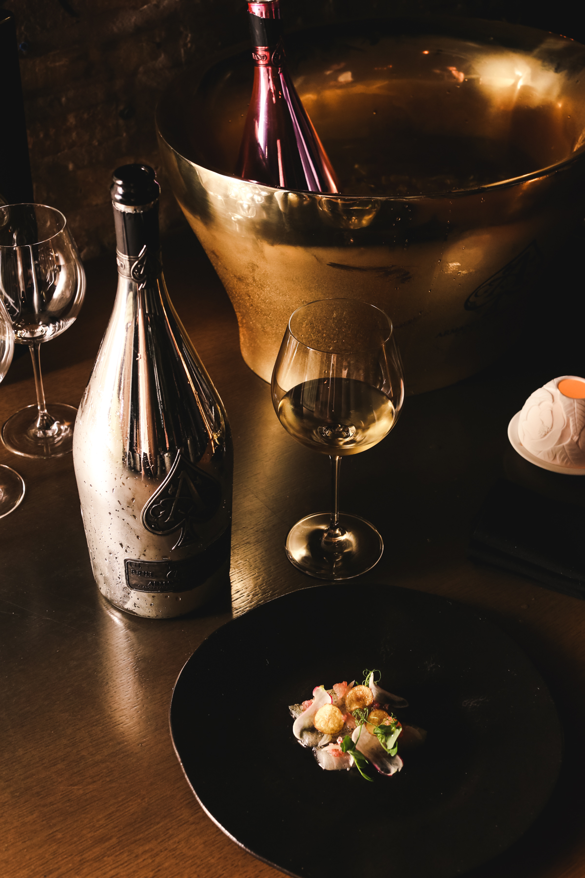 Bid on A Private Prestige Champagne Pairing Dinner