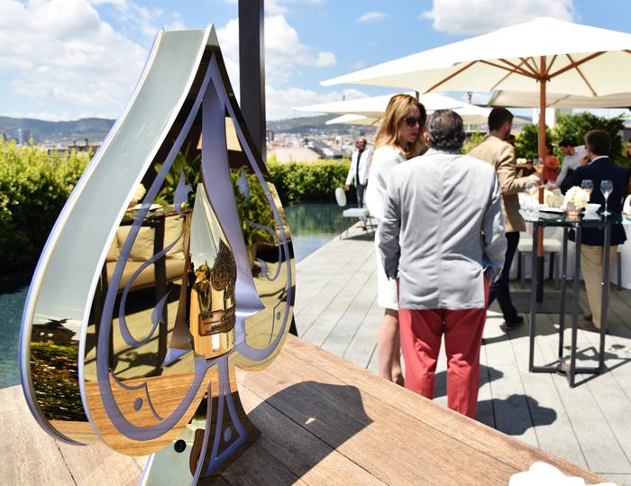 A Summer rooftop in Barcelona - Armand de Brignac Champagne
