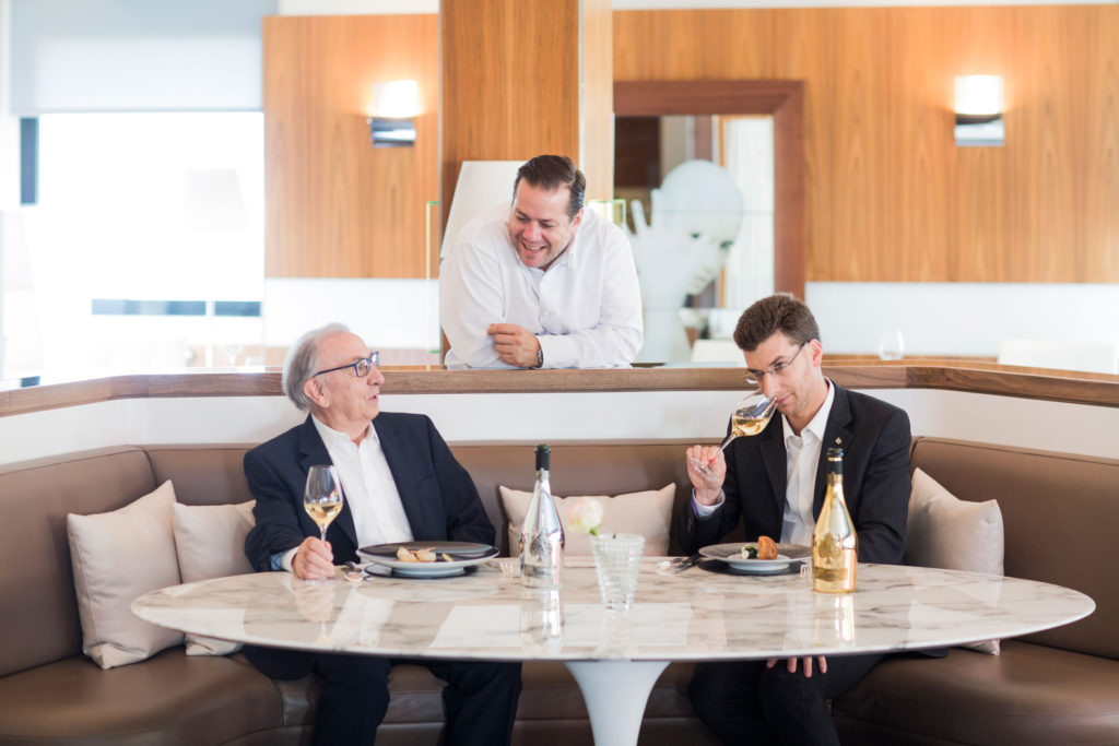 CHAMPAGNE ARMAND DE BRIGNAC PARTNERS WITH 3 MICHELIN-STARRED CHEF ARNAUD LALLEMENT