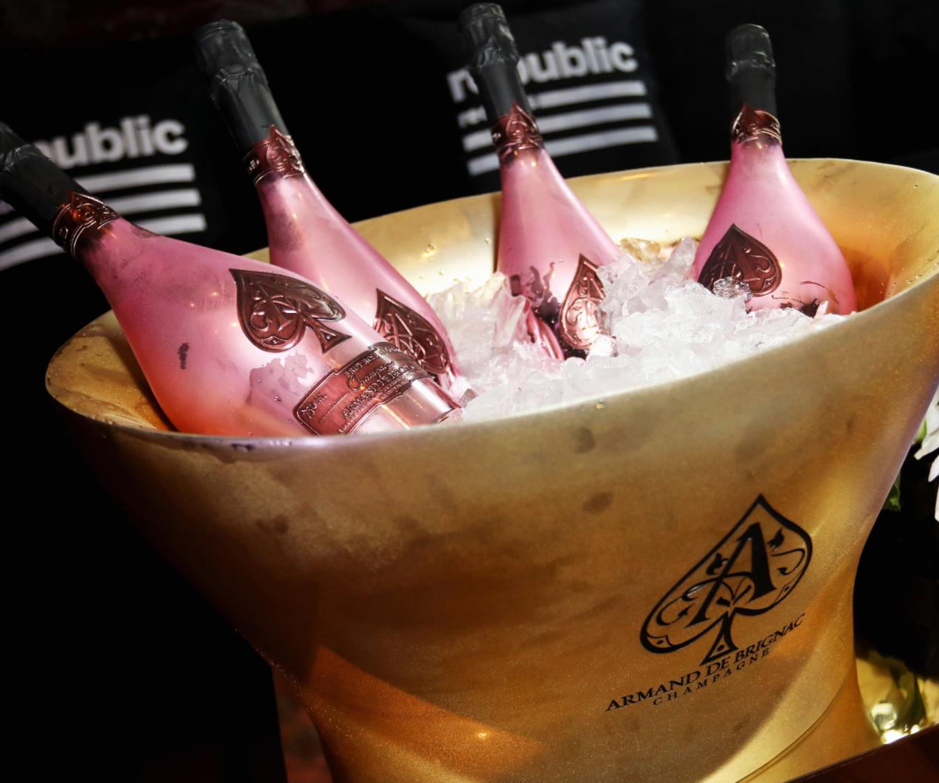 A Night of Celebrating - Armand de Brignac Champagne