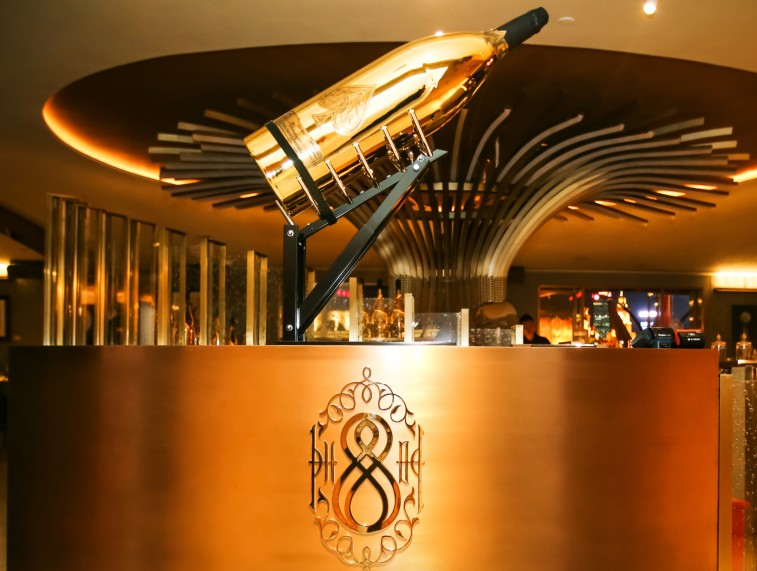 VIP members-only club preview - Armand de Brignac Champagne