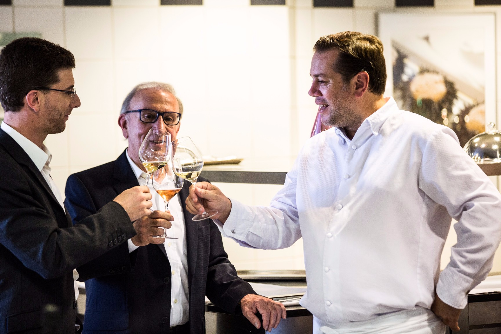Armand de Brignac and L'Assiette Champenoise Unite