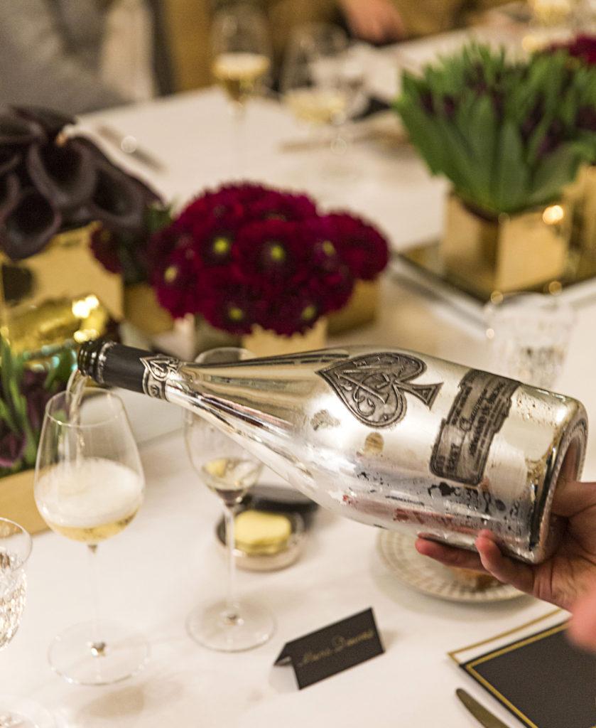 Celebrating Blanc de Blancs en Magnum at Hôtel de Crillon