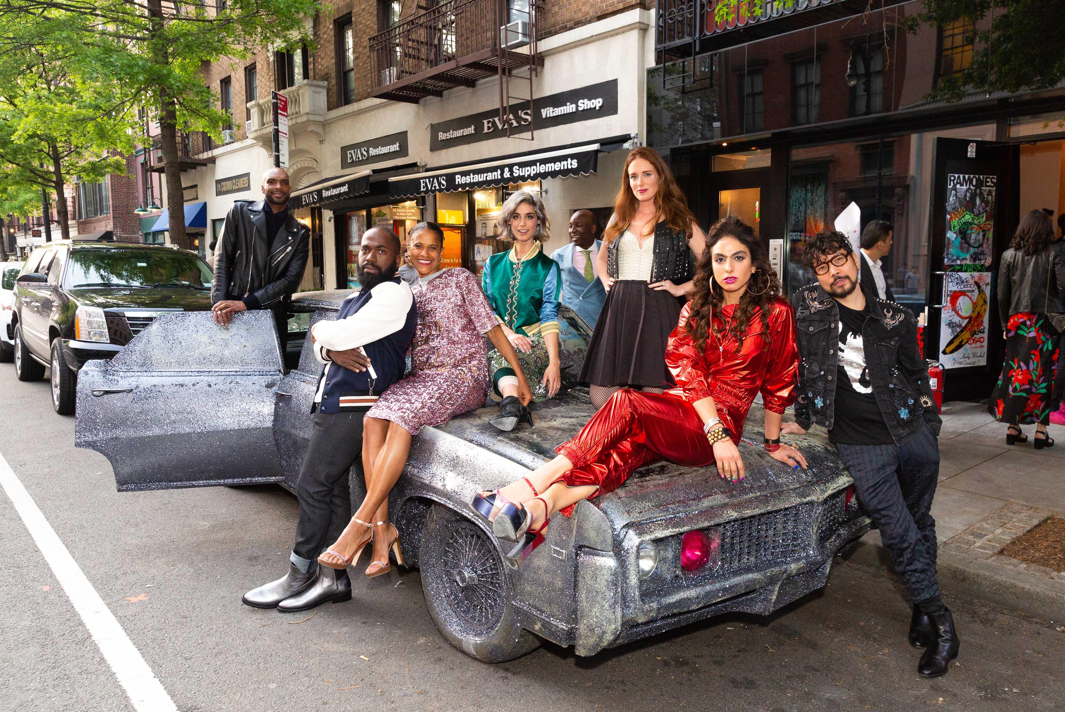 MAD Young Patrons 'Glitter Grunge Disco' Gala, with Armand de Brignac - Armand de Brignac Champagne