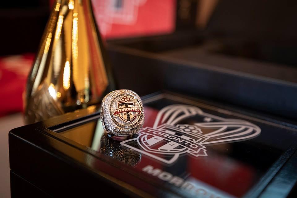 Toronto FC Championship Ring Presentation with Champagne Armand de Brignac