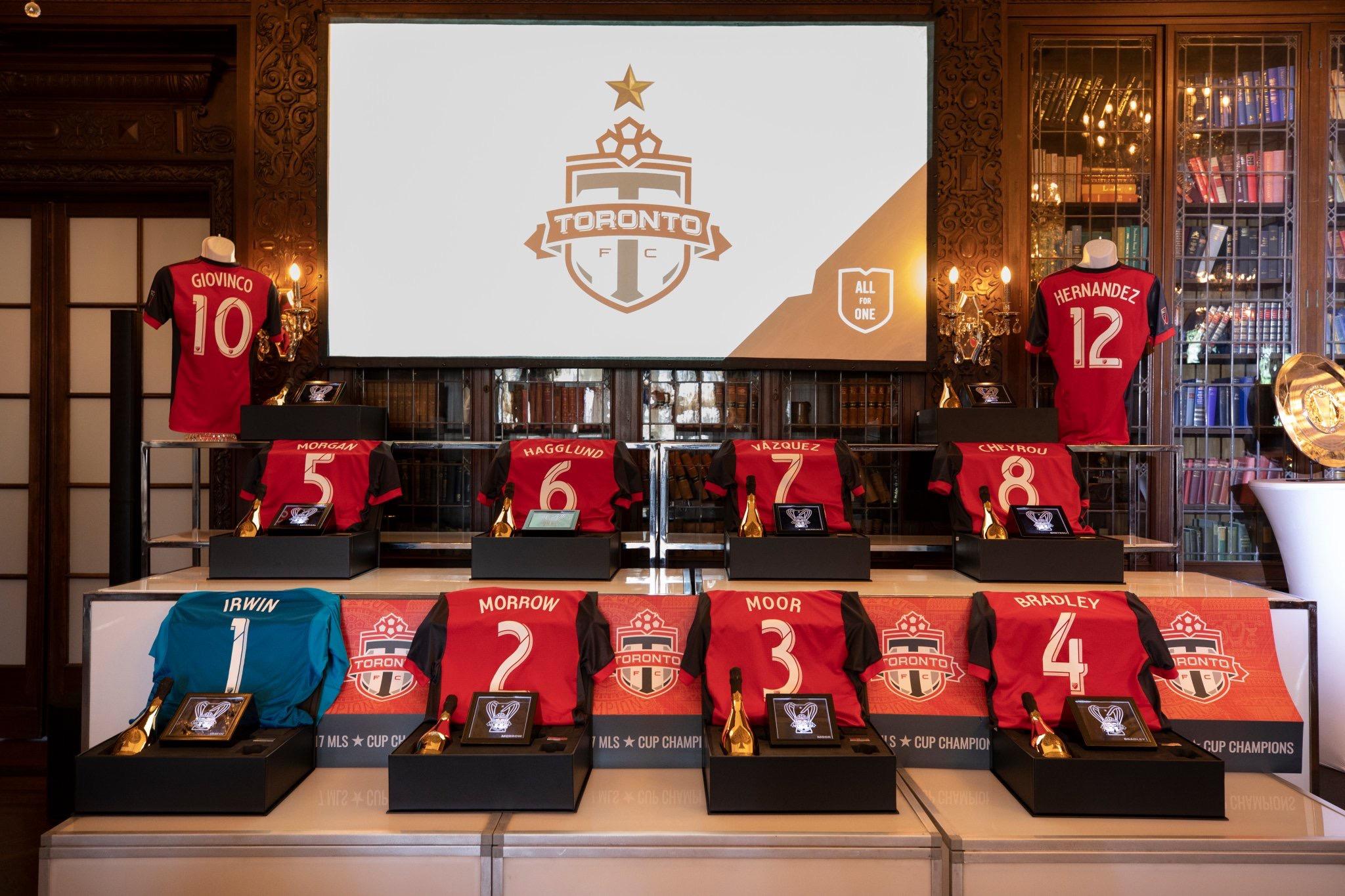 Toronto FC Championship Ring Presentation with Champagne Armand de Brignac - Armand de Brignac Champagne