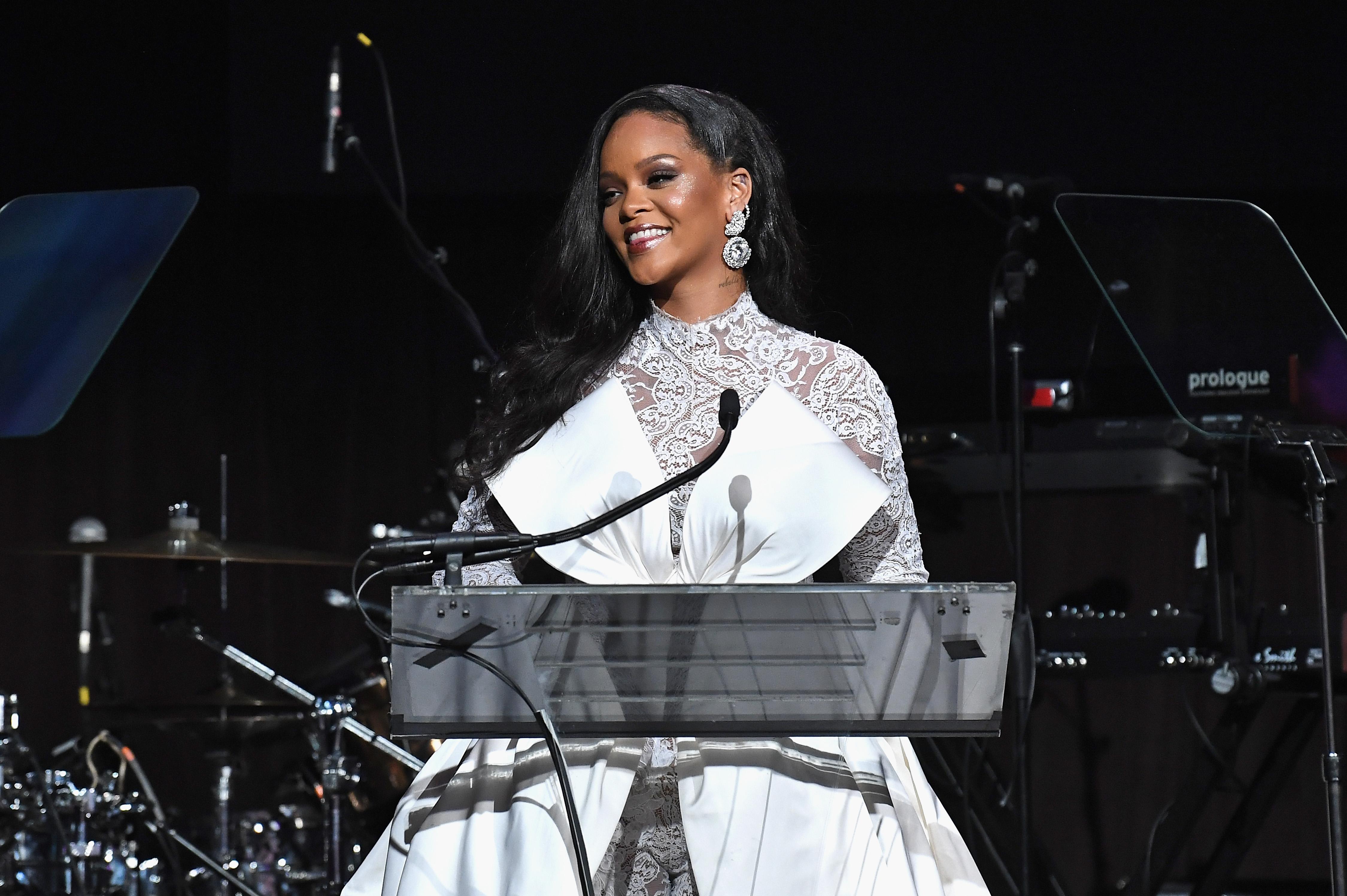 Inside Rihannas 2018 Diamond Ball - Armand de Brignac Champagne