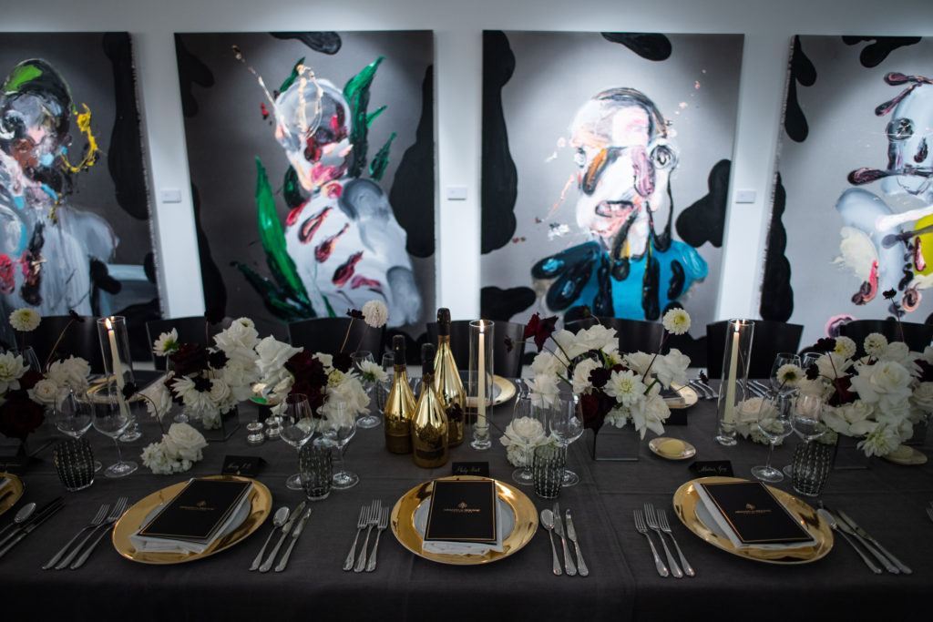 Armand De Brignac Toasts The Art World In London, Hosting A Prestige Champagne Dinner With Jean-David Malat