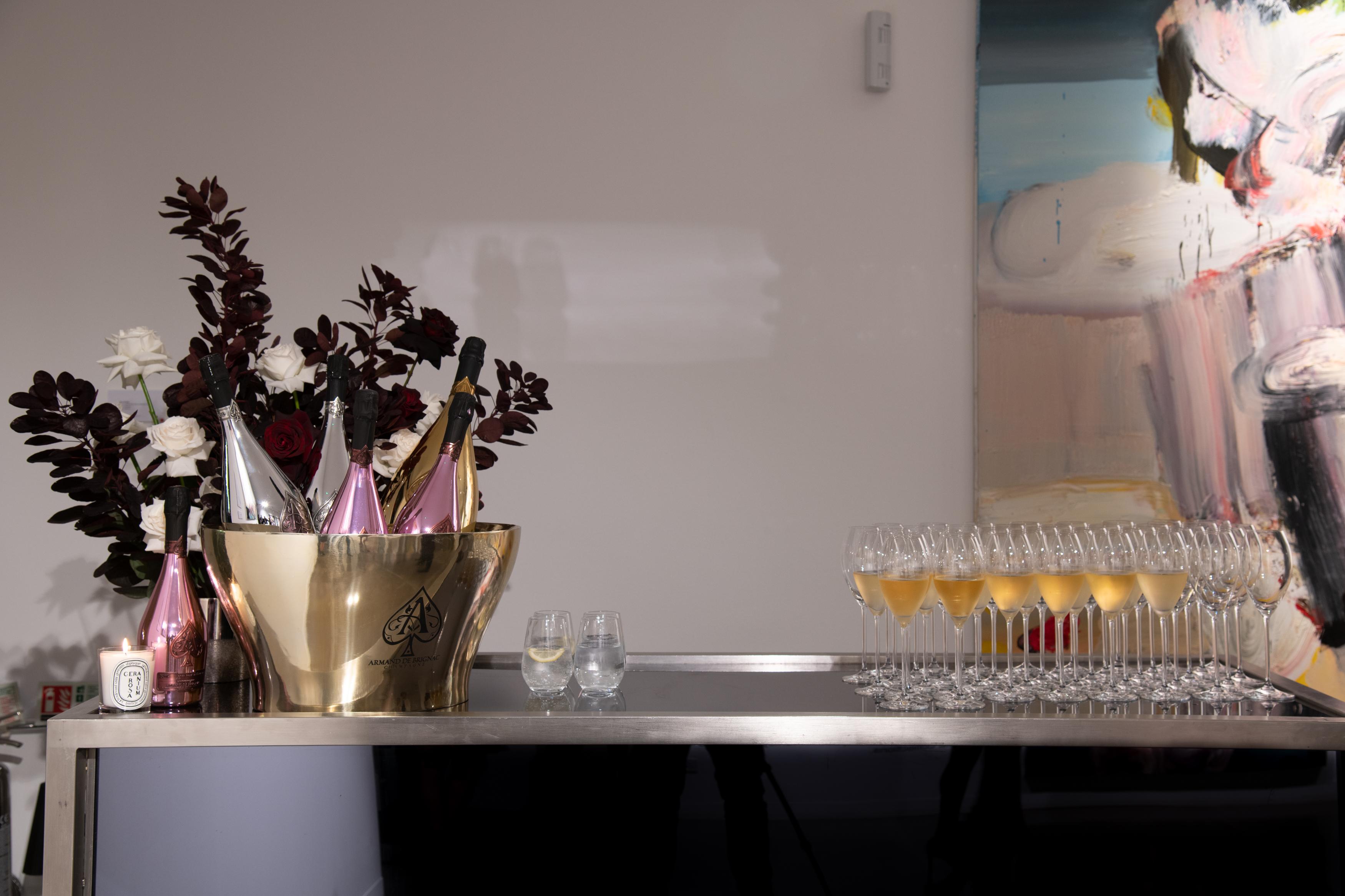 Armand De Brignac Toasts The Art World In London, Hosting A Prestige Champagne Dinner With Jean-David Malat - Armand de Brignac Champagne