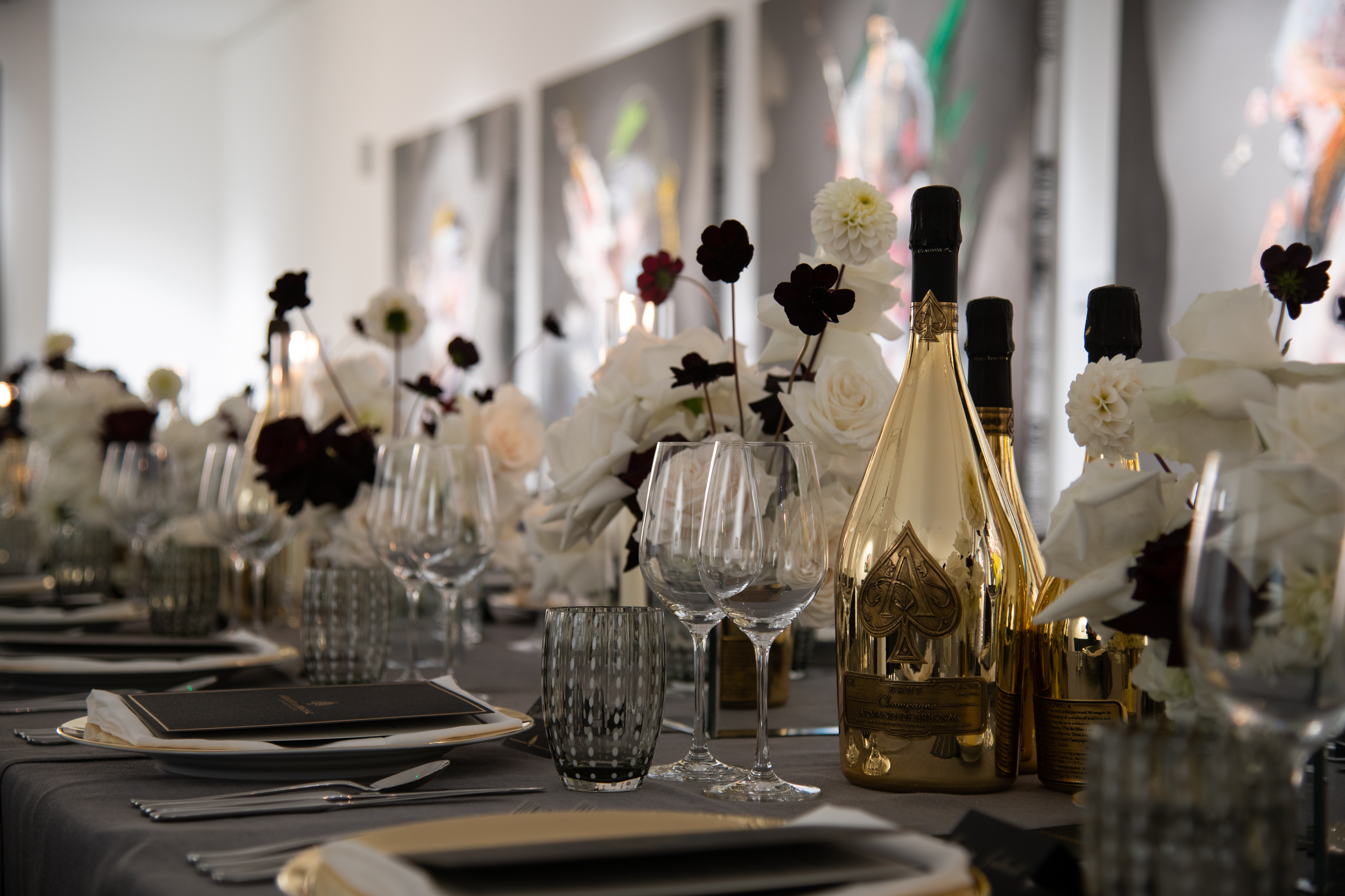 Armand De Brignac Toasts The Art World In London, Hosting A Prestige Champagne Dinner With Jean-David Malat - Armand de Brignac Champagne