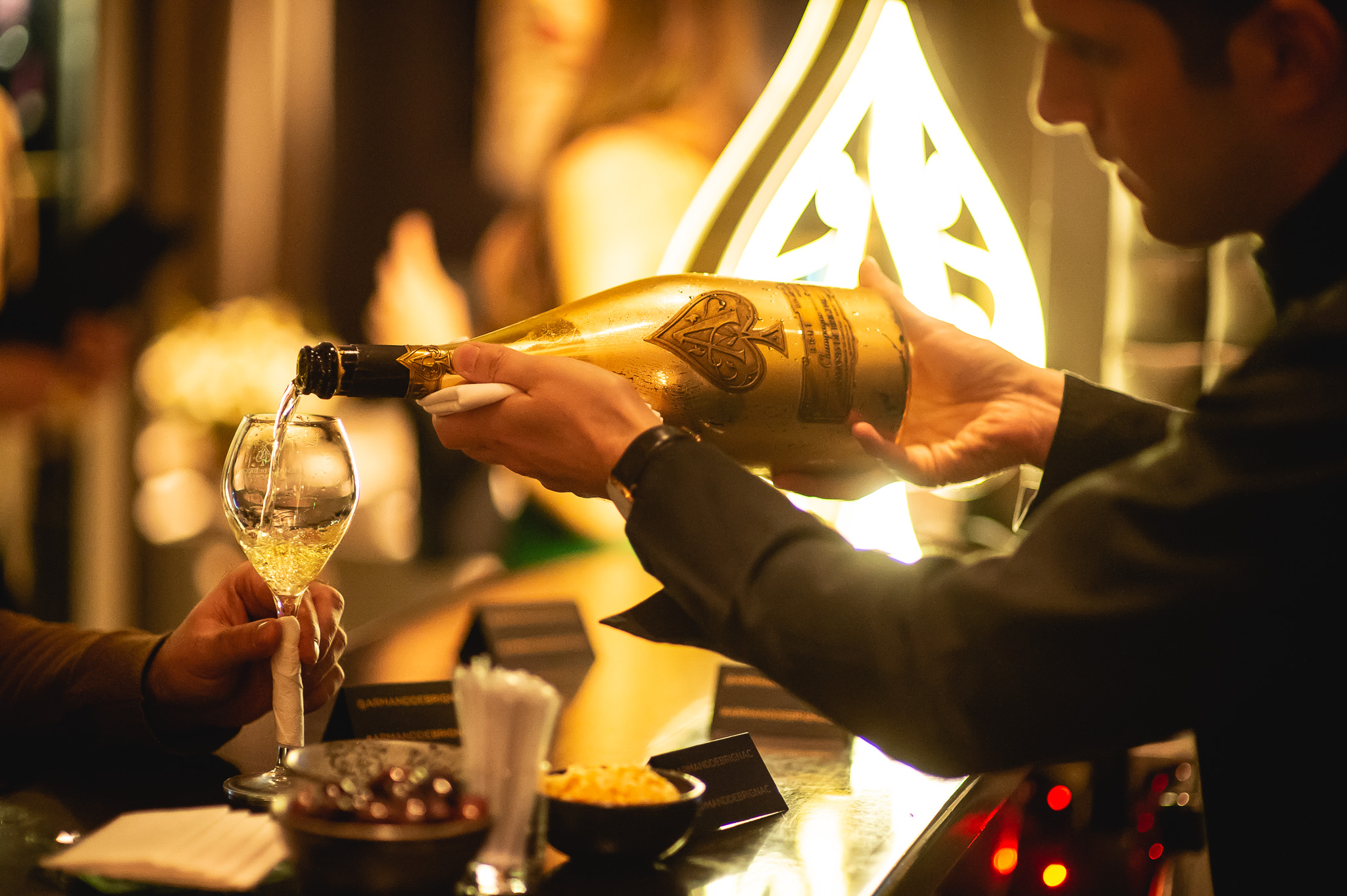 Funky Gourmet Celebrates 10th Anniversary With Launch of Armand De Brignac Pairing Menu - Armand de Brignac Champagne
