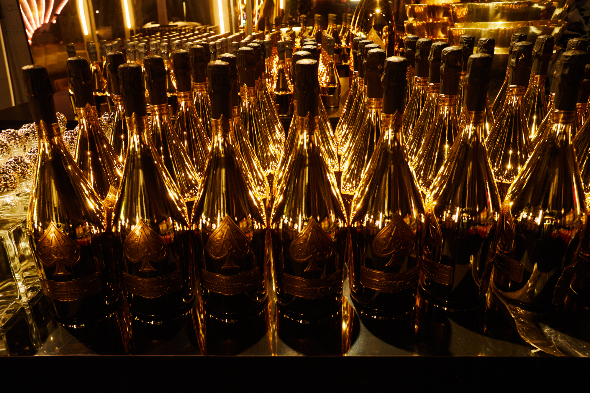 THE GOLD PARTY 2019 - Armand de Brignac Champagne