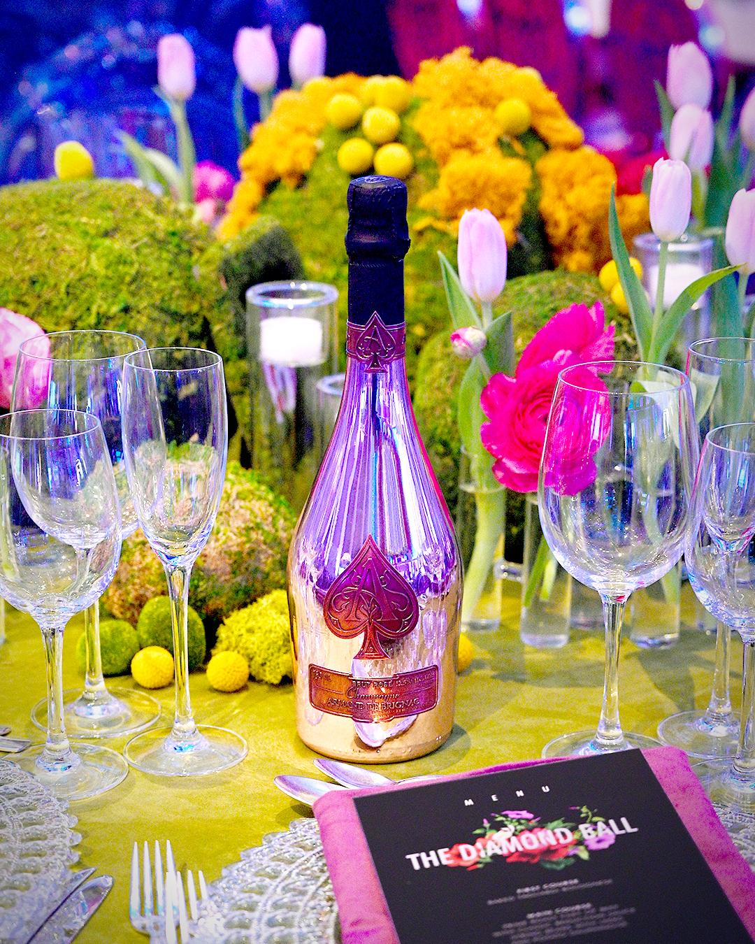 Inside Rihannas 5th Annual Diamond Ball - Armand de Brignac Champagne