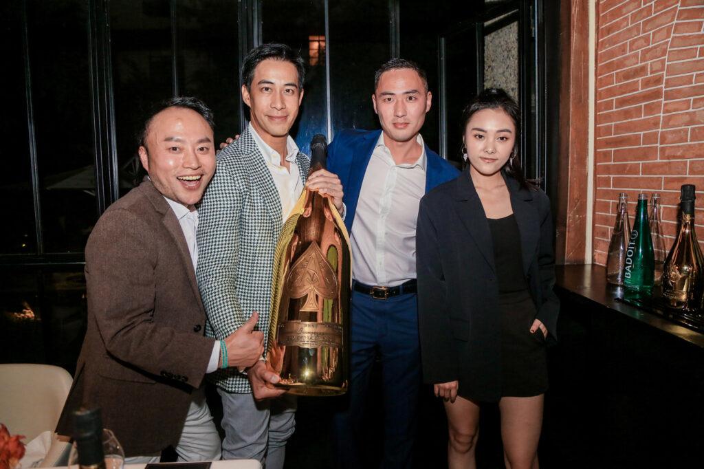 Armand de Brignac Blanc de Noirs Assemblage Three: Shanghai Launch