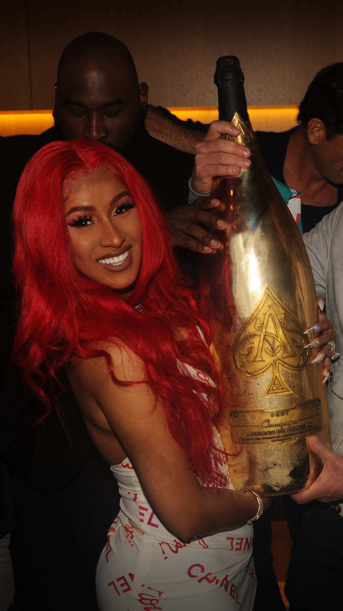 ARMAND DE BRIGNAC & WAYNE BOICH TOAST NFL ICONS, HOSTING SUPER BOWL LIV WEEKEND PRIVATE PARTY - Armand de Brignac Champagne