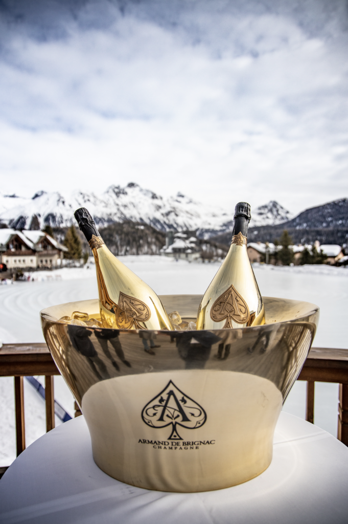 ARMAND DE BRIGNAC HOSTS TASTEMAKER CHAMPAGNE BRUNCH IN ST. MORITZ