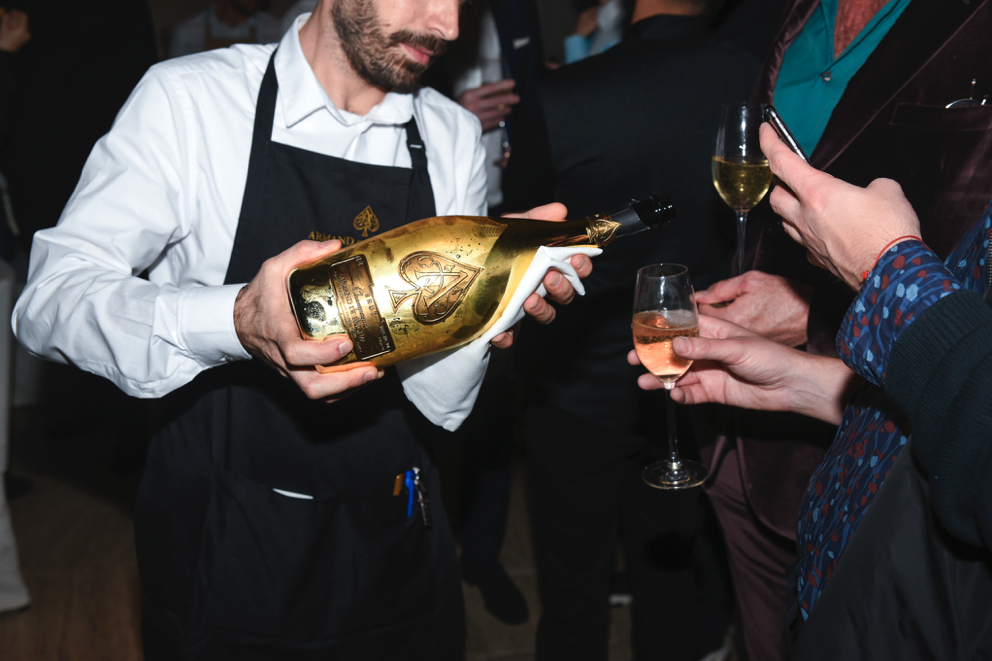 ARMAND DE BRIGNAC AT MIAMI ART WEEK 2019